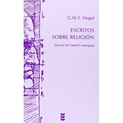 Escritos sobre religión. Edición de Gabriel Amengual