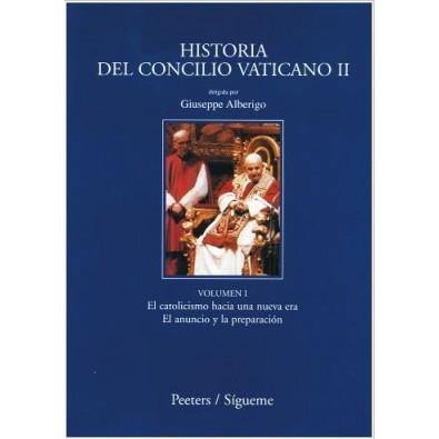 Historia del Concilio Vaticano II, I