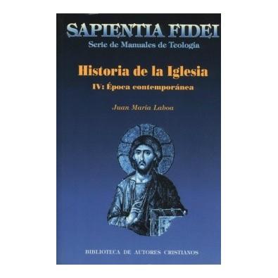 Historia de la iglesia iv edad contempor nea librer a ars for Caracteristicas de la contemporanea