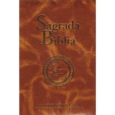 Sagrada Biblia Versión oficial Conferencia Episcopal Española (Edición típica guaflex)