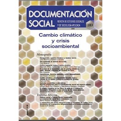 Cambio climático y crisis socioambiental. Documentación social nº 183
