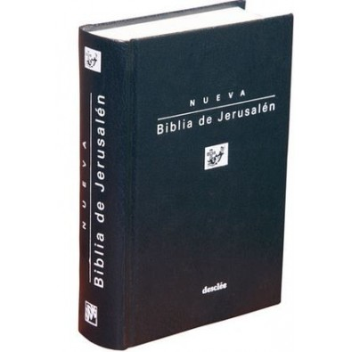 Biblia de Jerusalén. Bolsillo. Modelo 1
