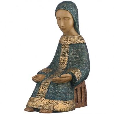 Virgen Paysanne azul