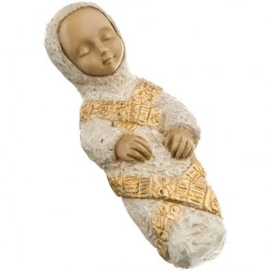 Niño de Virgen Paysanne blanco dorado