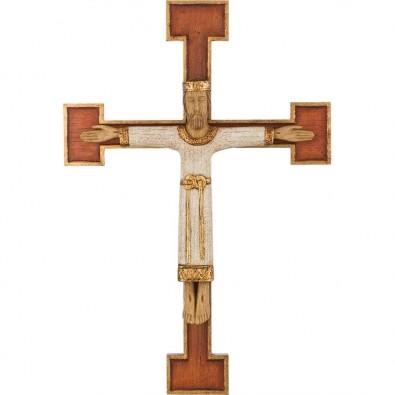 Cristo Sacerdote con cruz 47cm.