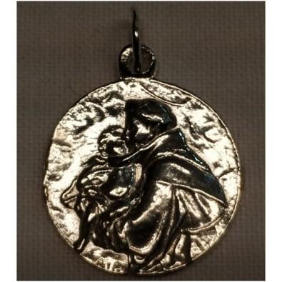 Medalla San Antonio de Plata de Ley 15 mm