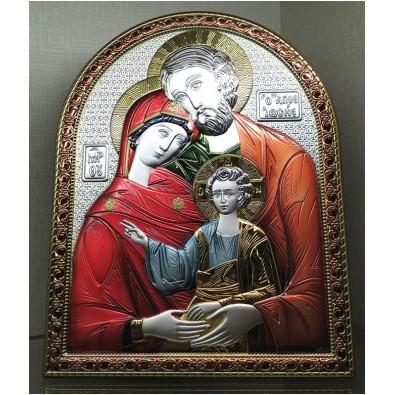 Cuadro plata bilaminada Sagrada Familia