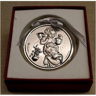 Medalla de cuna Ángeles Plata