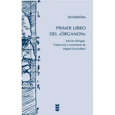 """Primer libro del """"Órganon"""""""