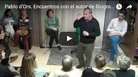 Video Encuentro con Pablo d'Ors