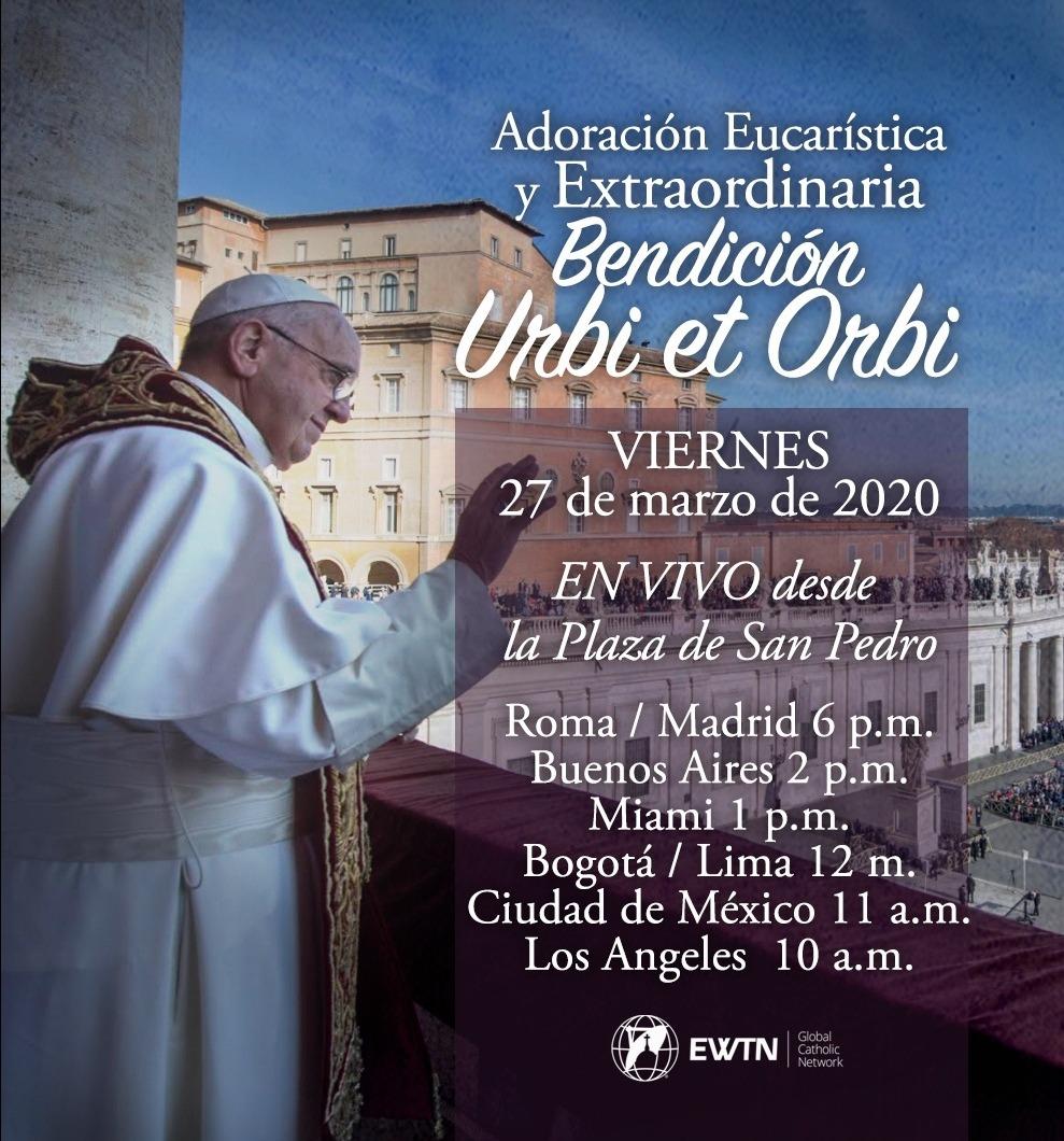 Oración con el Papa Francisco